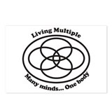 Living Multiple Postcards (Package of 8)