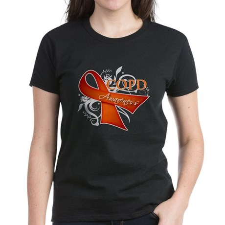 COPD Awareness Women's Dark T-Shirt