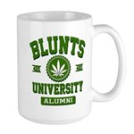 BLUNTS UNIVERSITY ALUMNI Large Mug