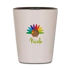 Nicole the Turkey Shot Glass