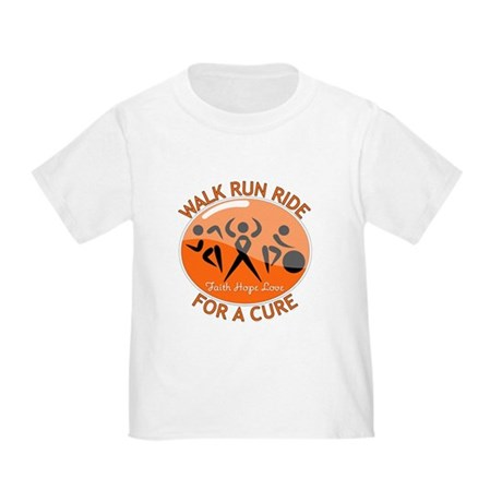COPD Walk Run Ride Toddler T-Shirt