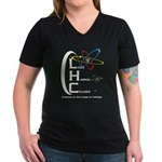 THE LHC Women's V-Neck Dark T-Shirt