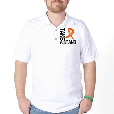 COPD Take A Stand Golf Shirt