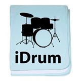 iDrum baby blanket