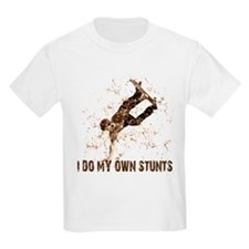 Extreme Skateboarding Stunts Kids T-Shirt