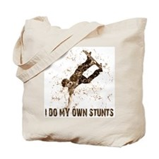 Extreme Skateboarding Stunts Tote Bag