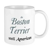 BOSTON TERRIER PORTRAIT Small Mug