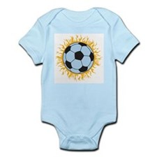 Soccer Fireball Infant Creeper