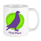 Best Racing Pigeon, First Place Coffee  Tasse