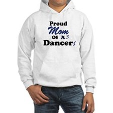 Mom of 3 Dancers Hoodie