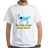 Service Dogs Save Lives Shirt