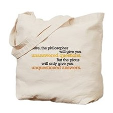 Philosophy & Religion Tote Bag