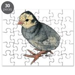 Turkey Poult Blue Slate Puzzle