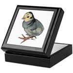 Turkey Poult Blue Slate Keepsake Box