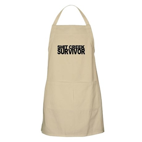 Shit Creek Survivor Apron