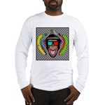 CHECKERBOARD CHIMPSTER Long Sleeve T-Shirt