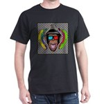 CHECKERBOARD CHIMPSTER Dark T-Shirt