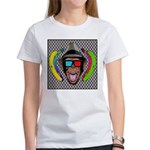 CHECKERBOARD CHIMPSTER Women's T-Shirt