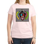 CHECKERBOARD CHIMPSTER Women's Light T-Shirt