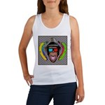 CHECKERBOARD CHIMPSTER Women's Tank Top