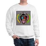 CHECKERBOARD CHIMPSTER Sweatshirt