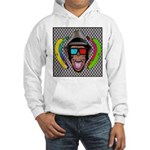 CHECKERBOARD CHIMPSTER Hooded Sweatshirt