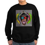 CHECKERBOARD CHIMPSTER Sweatshirt (dark)