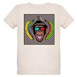 CHECKERBOARD CHIMPSTER Organic Kids T-Shirt