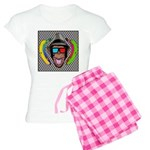 CHECKERBOARD CHIMPSTER Women's Light Pajamas