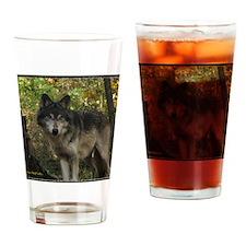 Wolf Spirit Drinking Glass