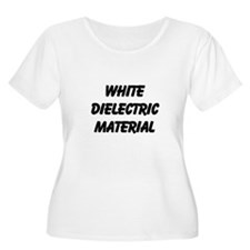 White Dielectric Material T-Shirt