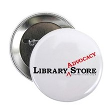 "Library ADVOCACY Store 2.25"" Button (100 pack)"