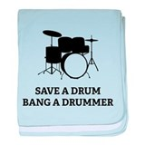 Save a Drum baby blanket