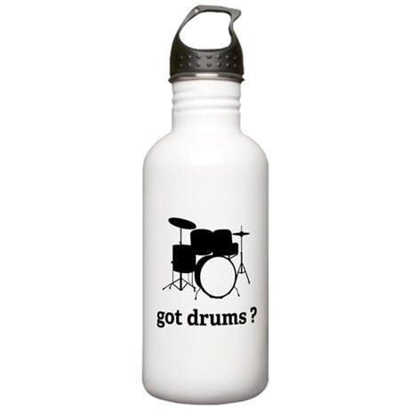 got drums ? Stainless Water Bottle 1.0L
