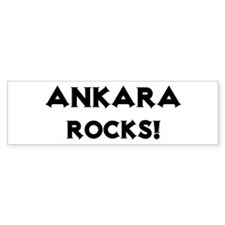 Ankara Rocks! Bumper Bumper Sticker