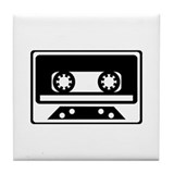 Retro Music Tile Coaster