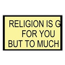 Religion Custom Decal
