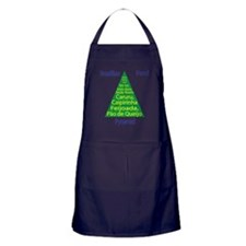 Brazilian Food Pyramid Apron (dark)