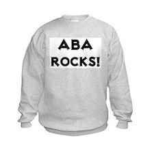 Aba Rocks! Sweatshirt