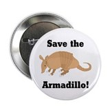 Save the Armadillo Button