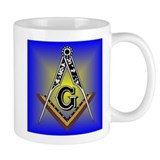 Masonic Square and Compass Small Mug