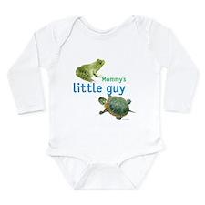 Mommy's little guy Long Sleeve Infant Bodysuit