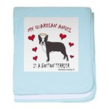 &quot;My Guardian Angel&quot; Dog Breeds baby blanket