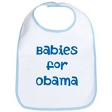 Cute Mama for obama Bib