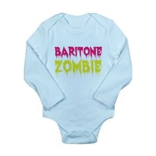 Baritone Zombie Long Sleeve Infant Bodysuit