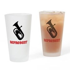Baritone Represent Drinking Glass