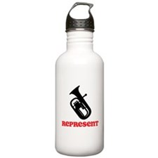 Baritone Represent Water Bottle