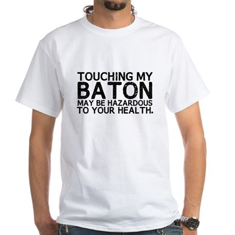 Baton Hazard White T-Shirt
