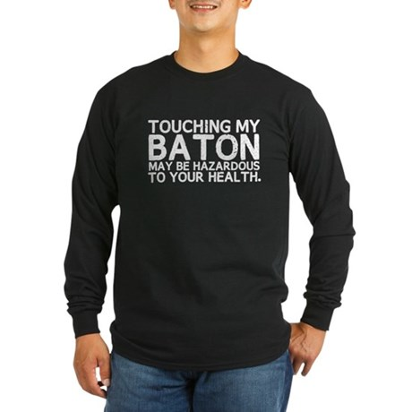 Baton Hazard Long Sleeve Dark T-Shirt