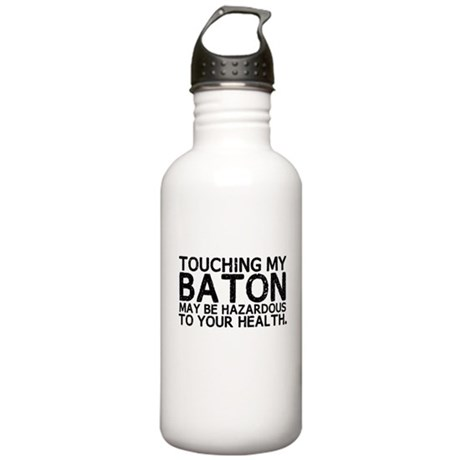 Baton Hazard Stainless Water Bottle 1.0L